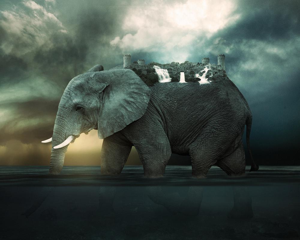 Zunisha, The elephant island by Rockwaved