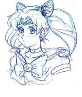 Sailor Chibi-Moon by MagicalMelonBall