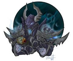 Kraint + Chillybottom fin by MagicalMelonBall