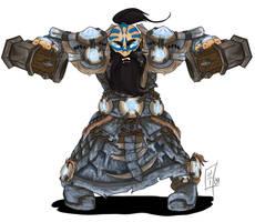Commission - Dwarf Shaman by MagicalMelonBall