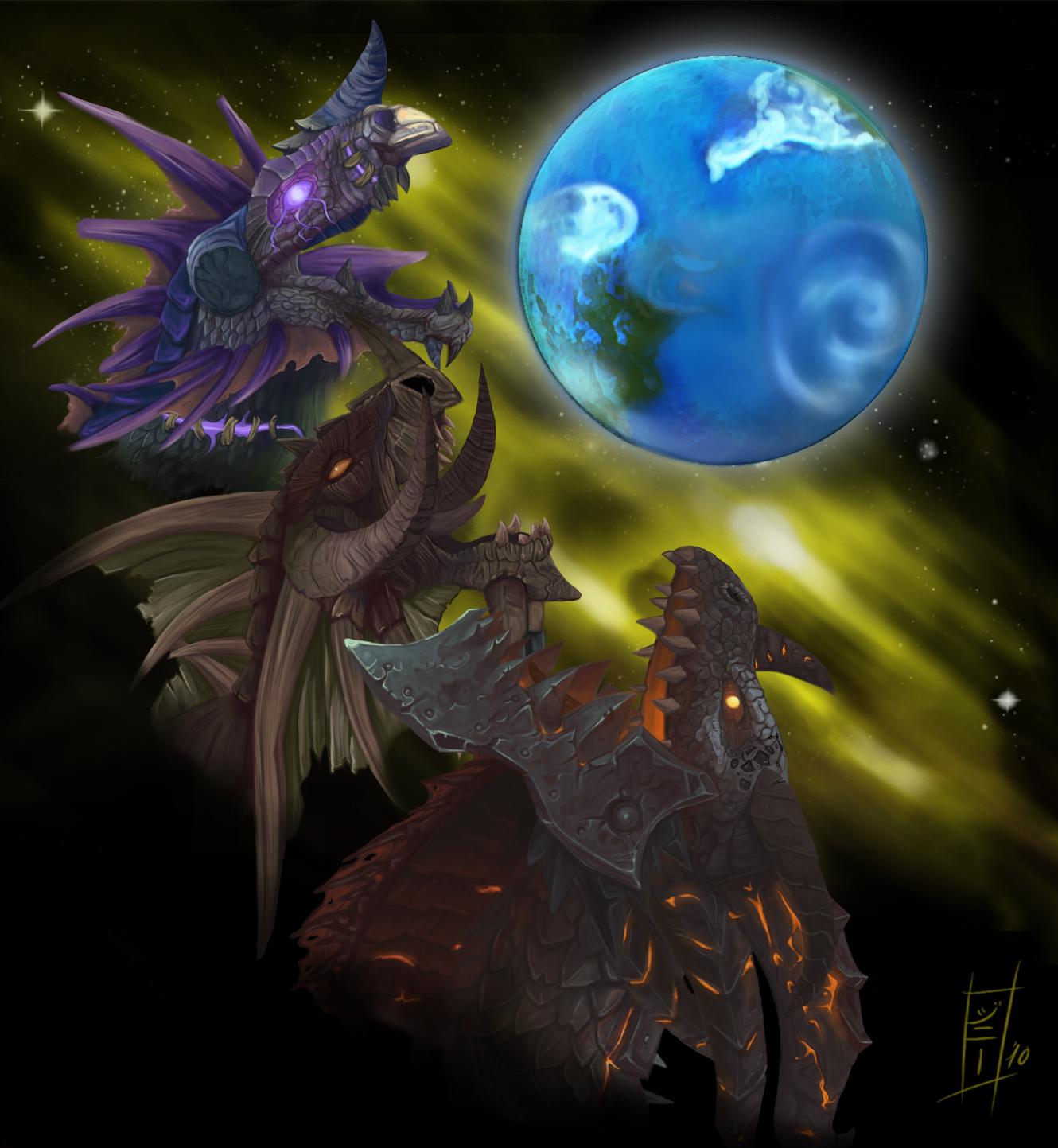 Three Dragon Azeroth - FIN by MagicalMelonBall