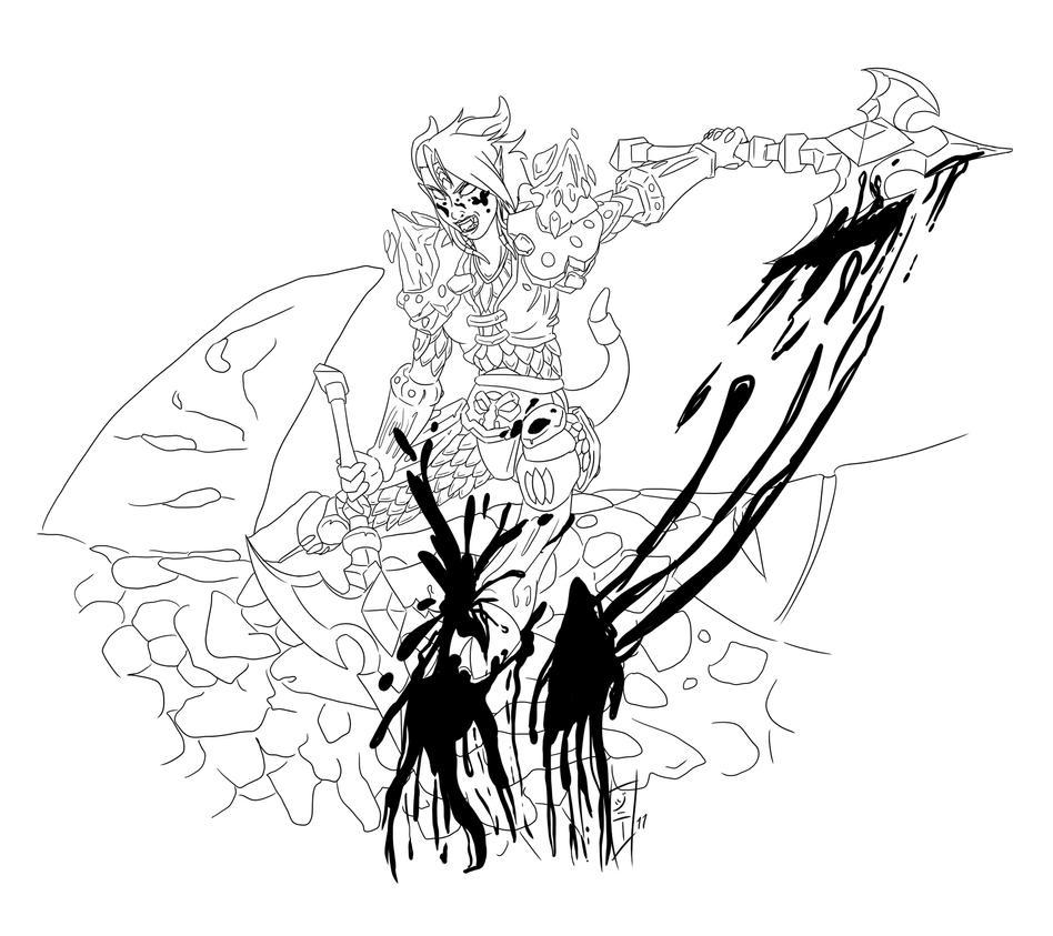 Beastyn - Ink by MagicalMelonBall