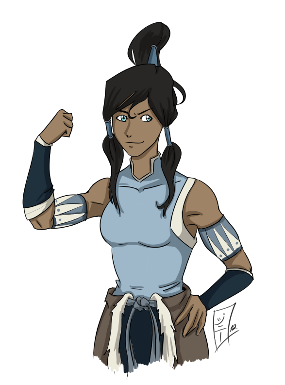 The Avatar - 1 hour drawing by MagicalMelonBall
