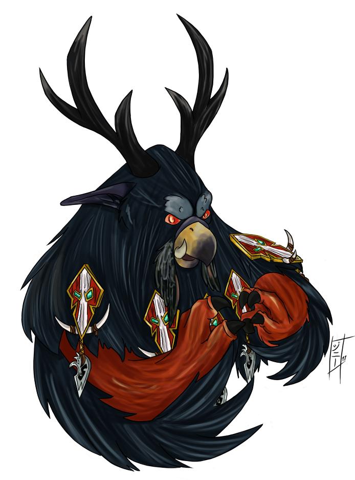 BlizzCon Badge Fin - Zanaji by MagicalMelonBall