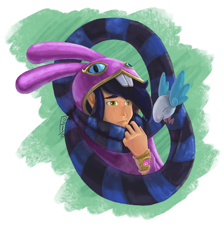 -SPOILER-Link Between Worlds-SPOILER- I'm No Hero by MagicalMelonBall