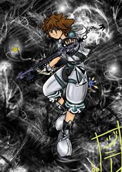 KH2: Sora -- Final Form by MagicalMelonBall