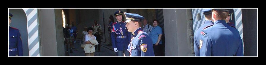 Prague 07 - Changing guards
