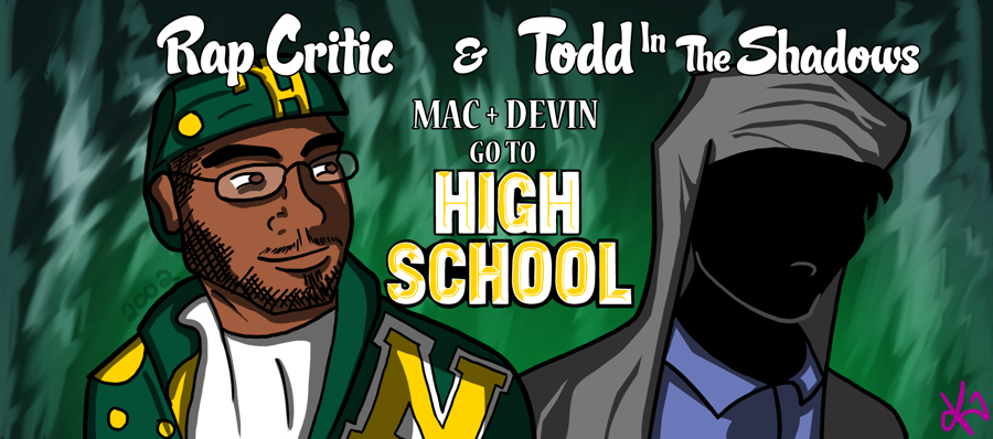 Mac and Devin Go To High School by TheButterfly