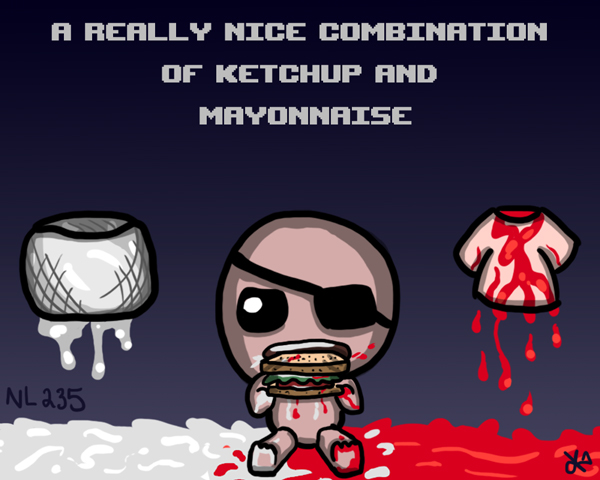 NL Quote7: Ketchup And Mayonnaise by TheButterfly