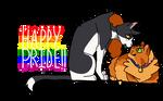 happy pride month! (talljake) by paintedpaw-cat