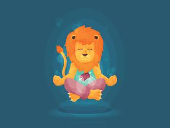 Dralion, the Aum Lion by Monstruonauta
