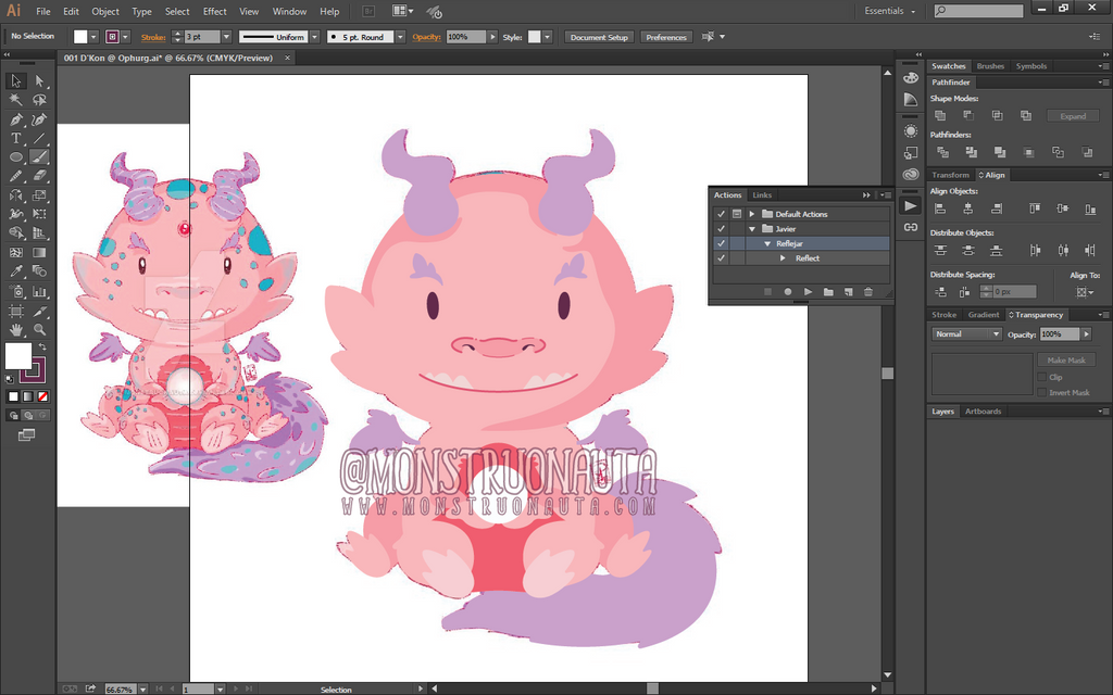 Adoptable - D'Kon @ Ophurg WIP by Monstruonauta