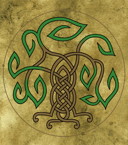 Free Celtic Tree Of Life Desktop Background