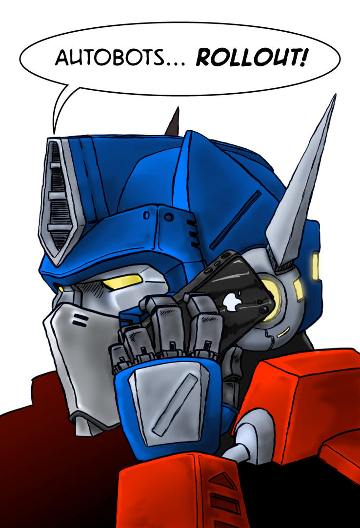 Digital coloring of Optimus Prime Concept by propsofprophecy