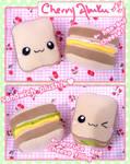 Sandwich Plushies
