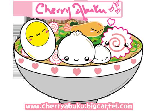 Cherry Abuku Ramen Bowl