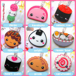 Japanese Food Necklaces