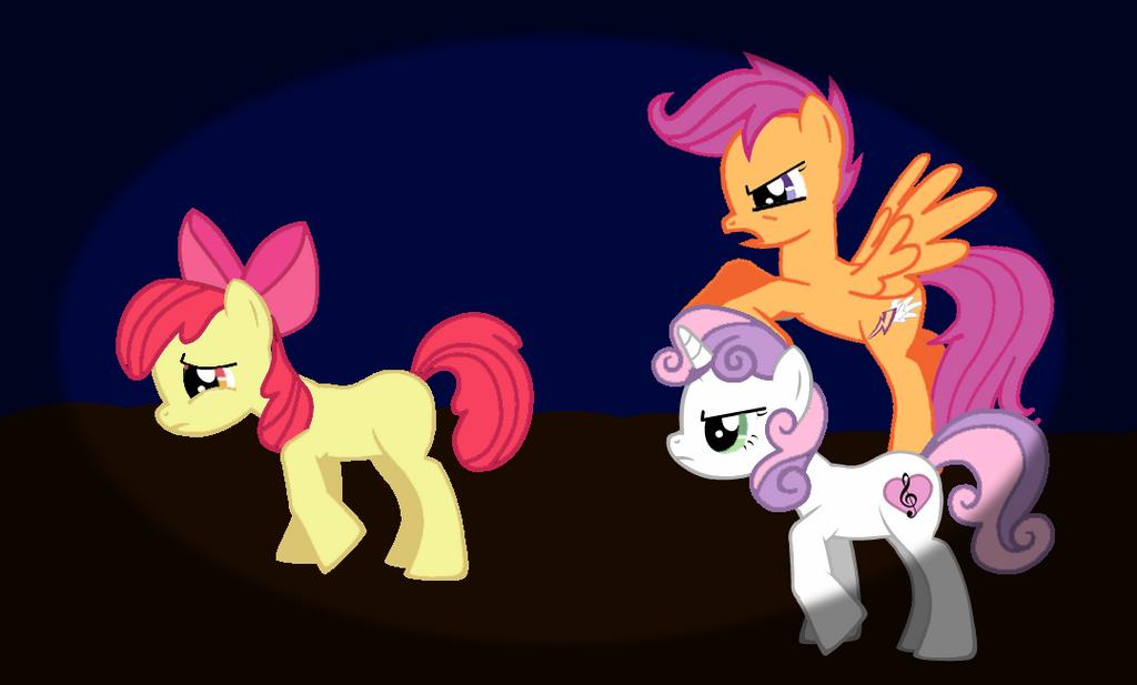 Applebloom's Nightmare by Cat-Thighs