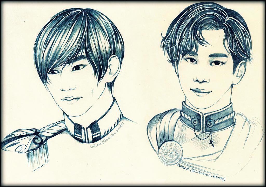 Their Majesties by KaiLEECH
