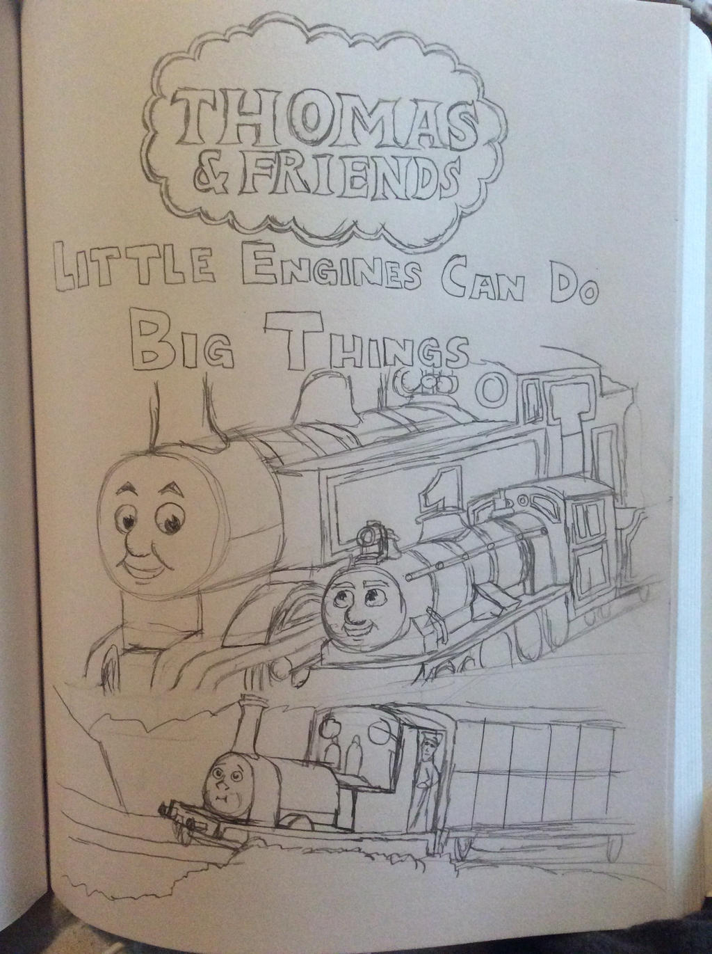 Little Engines Can Do Big Things by doctorwhooves253