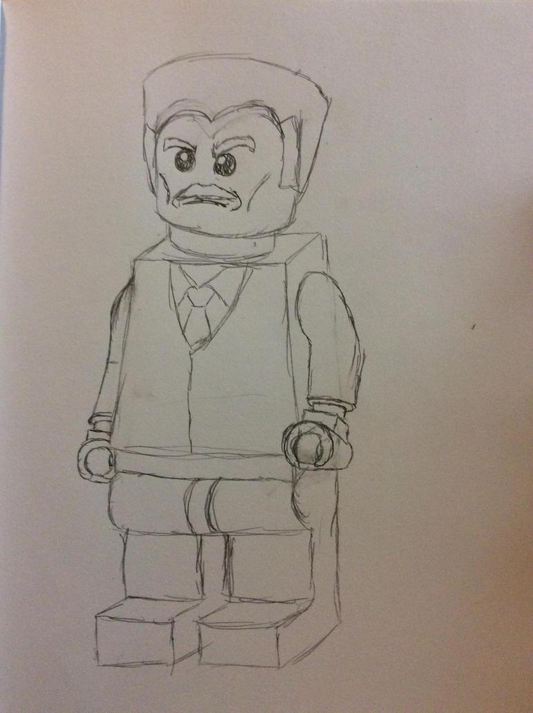 LEGO J Jonah Jameson by doctorwhooves253