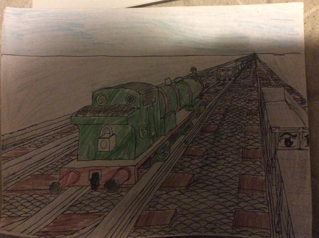 Percy and the Trucks Part 1 by doctorwhooves253