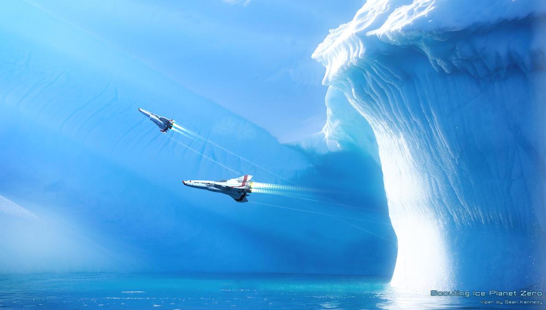 Ice Planet Zero by GrahamTG