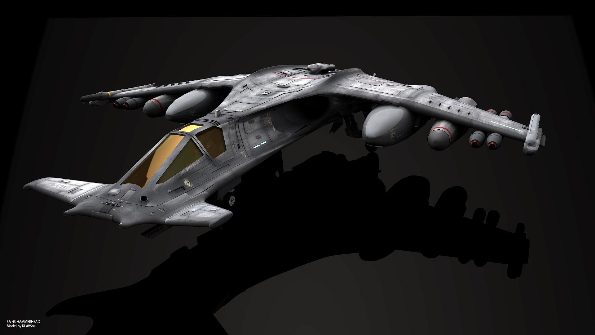 SA-43 Hammerhead by GrahamTG