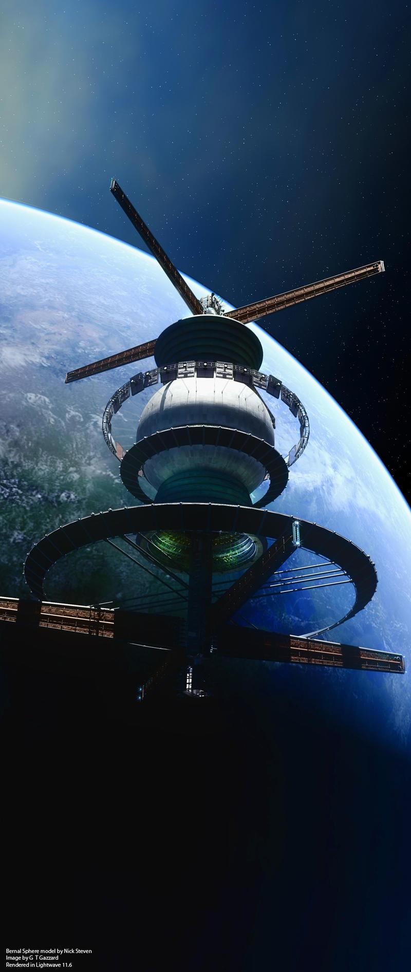 Bernal Sphere by GrahamTG