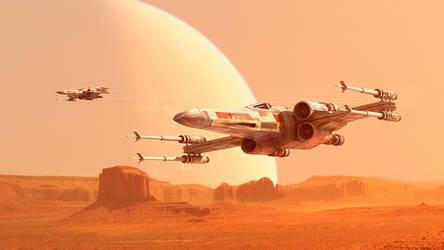 Desert Wings by GrahamTG