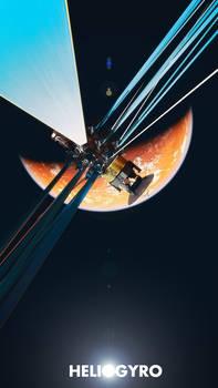 Helio Gyro  Solar powered probe