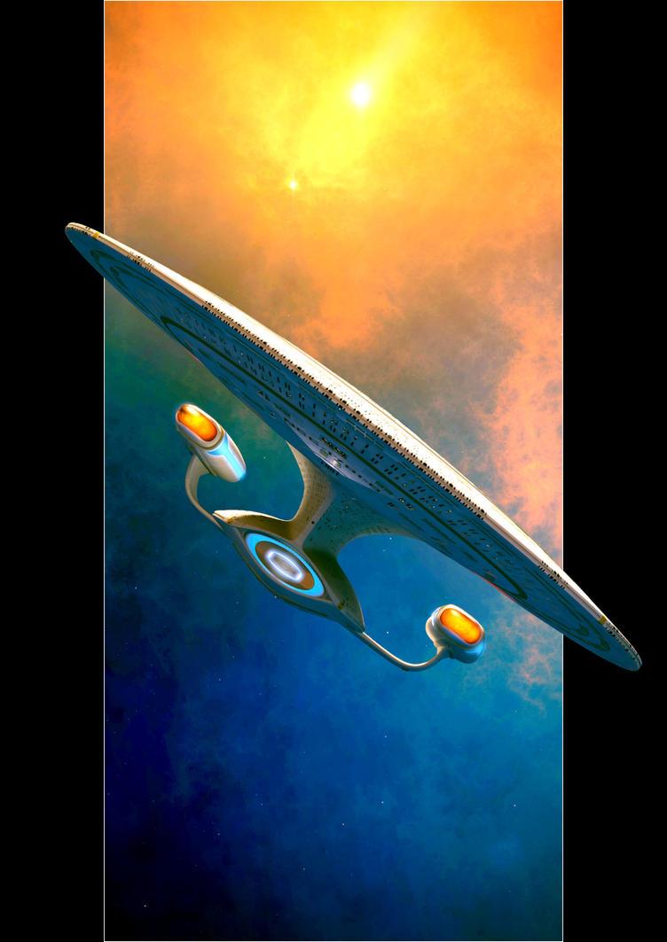 NCC 1701-D Galaxy Class by GrahamTG
