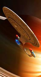Enterprise D by GrahamTG