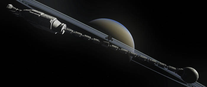 Discovery at Saturn