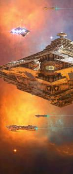 Fleet manoeuvres II by GrahamTG