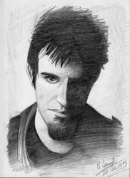 Rob Swire Portrait (Pendulum, Knife Party) by JohnyCcu