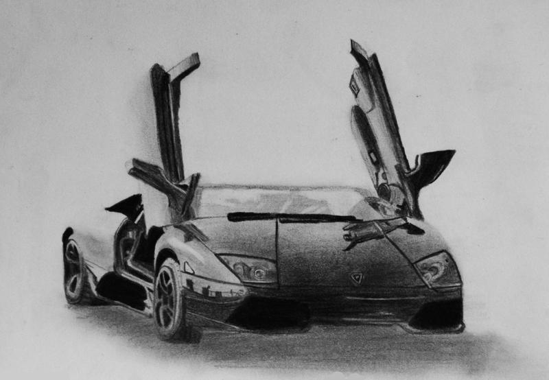 Lamborghini Murcielago by little--grasshopper