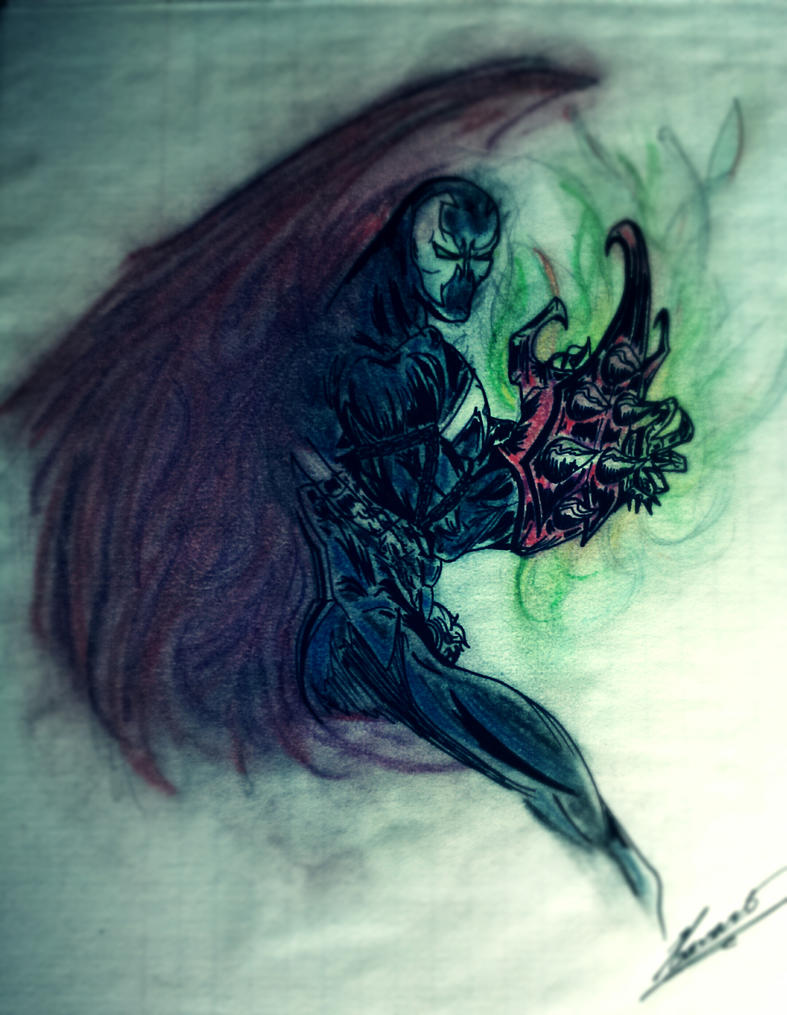 Spawn powers by Wednesday-thirteen