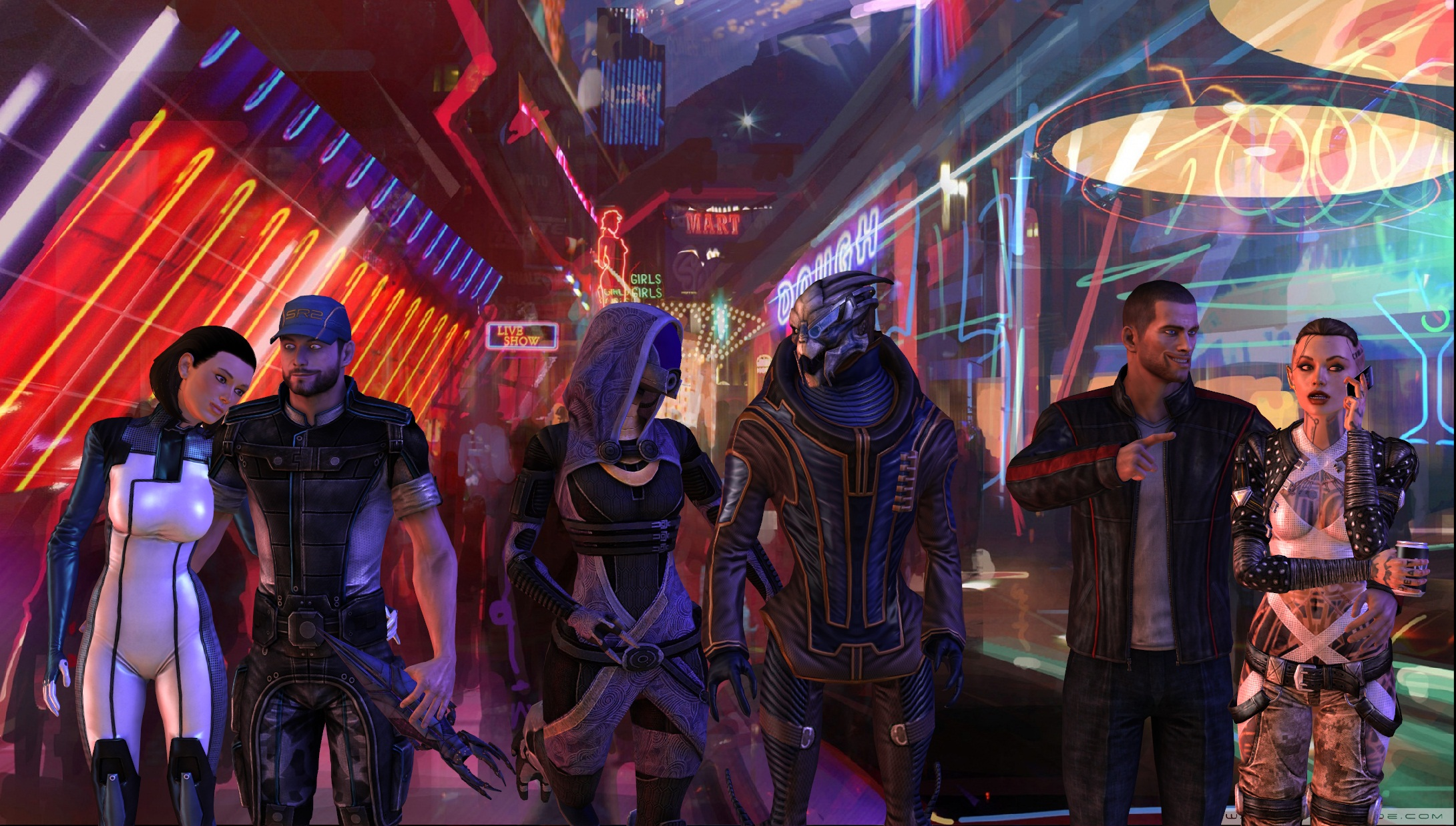Mass Effect 3: A night on the Citadel