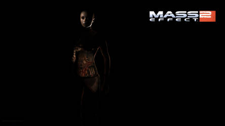 Mass Effect 2: Subject Zero Wallpaper by Lootra