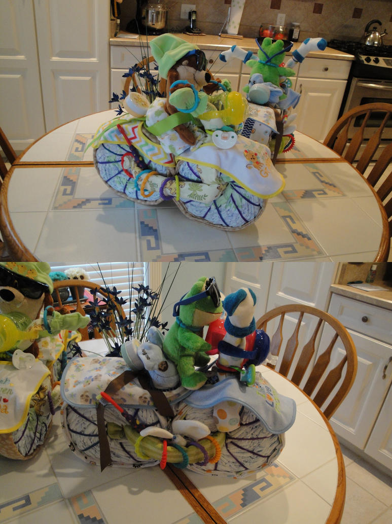 Youtube How To Make All Different Kinds Baby Diaper Cake
