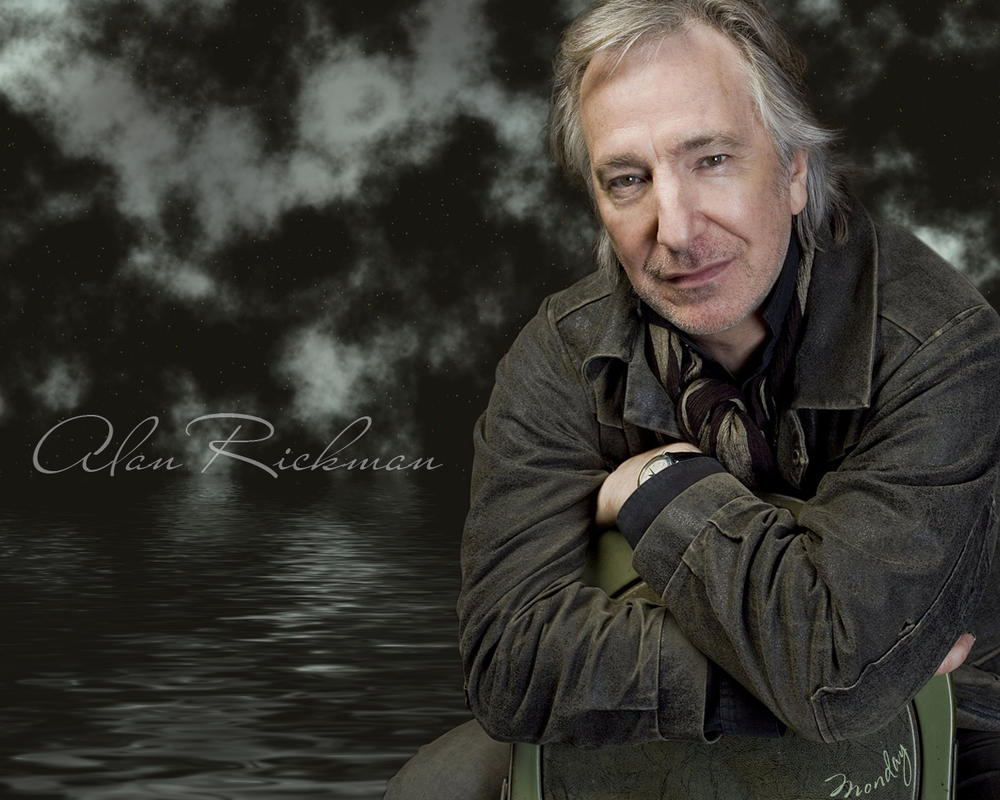 Alan Rickman by Monday-----AR