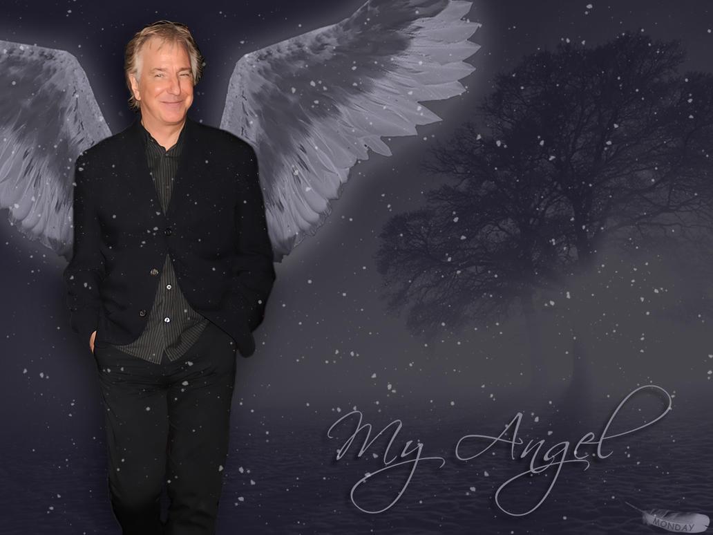 My snow angel by Monday-----AR