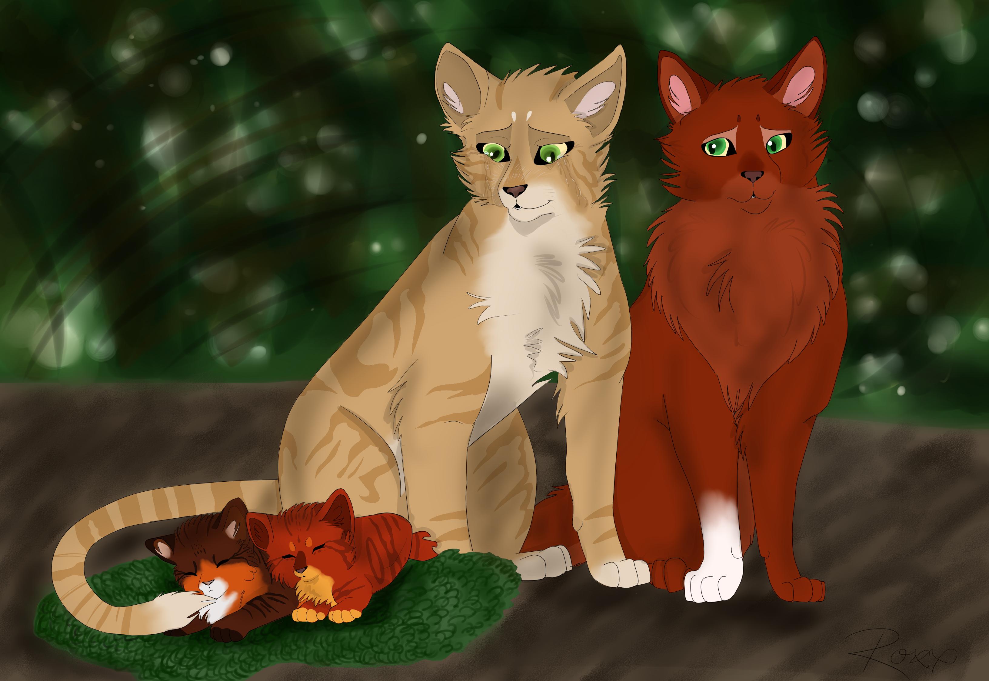 Warrior Cats Nursery Paint