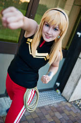 Wondergirl - Young Justice by L-a-y-l-a