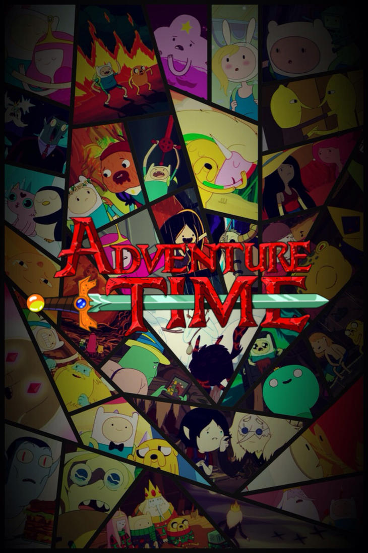 Wallpaper iphone adventure time - Adventure Time By Epicfacemaster