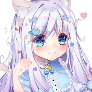 Commission for Luvmails - Vtuber avatar