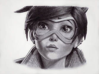 Tracer (Overwatch) by JusTODrawings