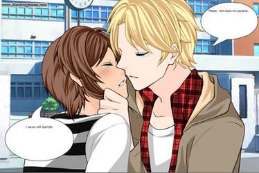 Garrance Sad Kissing Scene