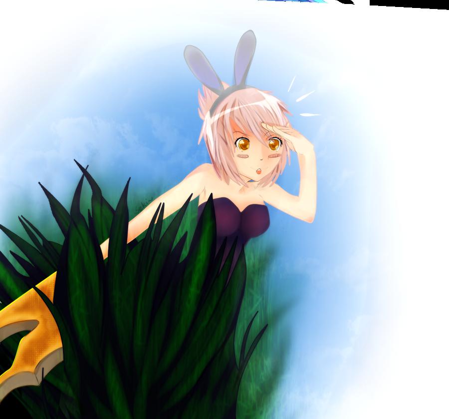 League Of Legends Battle Bunny Riven Fan Art Battle bunny riven byBunny Riven Fan Art